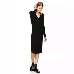 Aritzia Wilfred Free Lisière Knit Bodycon Dress